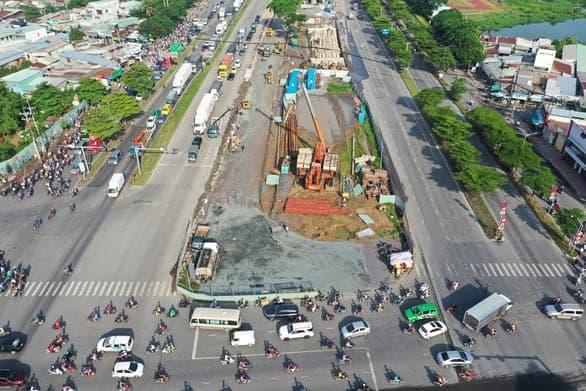 Dự án giao thông kết nối về các vùng phụ cận thành phố