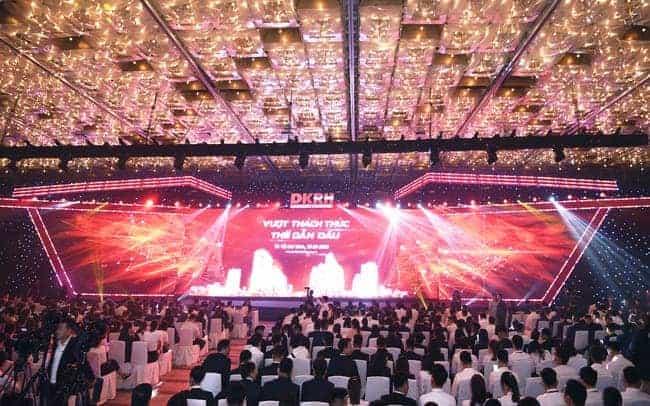 Hơn 3000 người tham gia sự kiện của Tập đoàn Danh Khôi
