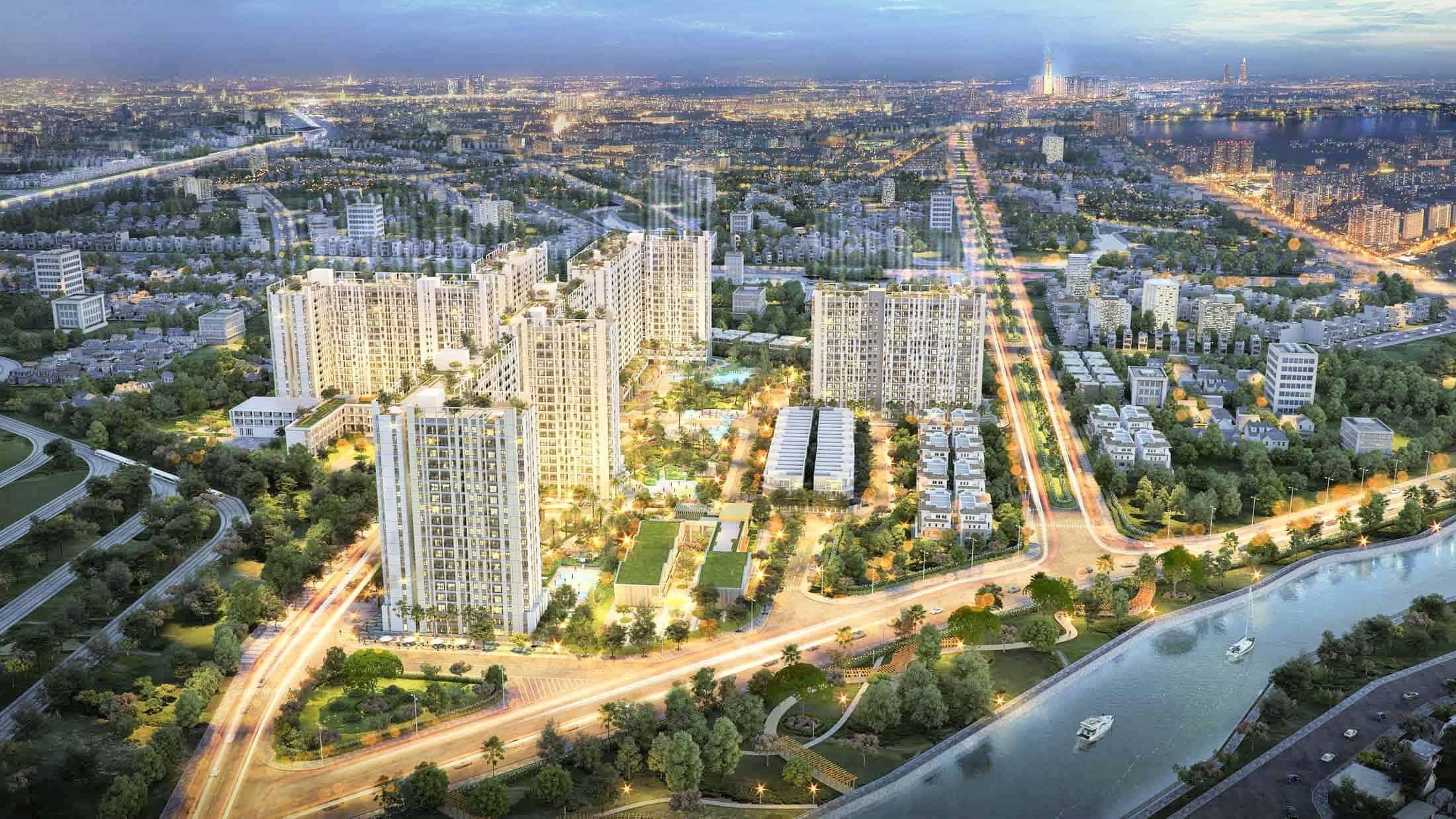 Căn hộ Astral city Thuận An tiếp tục đà tăng trưởng