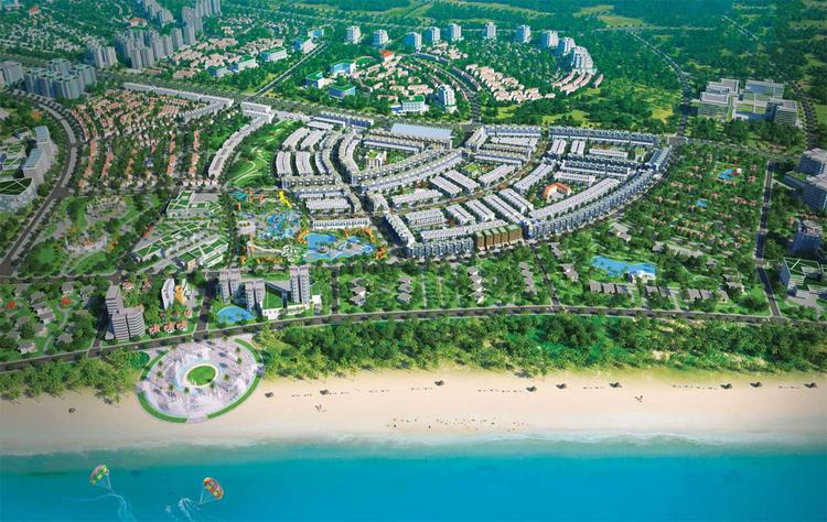 Căn hộ Takashi Ocean Suite với lợi thế tọa lạc trung tâm khu đô thị biển