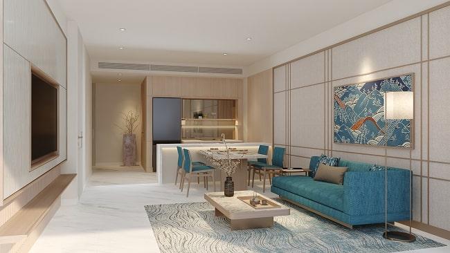 Bản sắc Nhật tại căn hộ Takashi Ocean Suite Kỳ Co